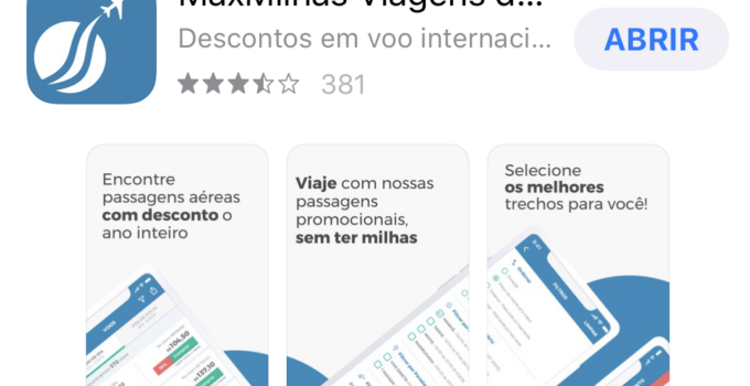 Apps da MaxMilhas para iOS e Android